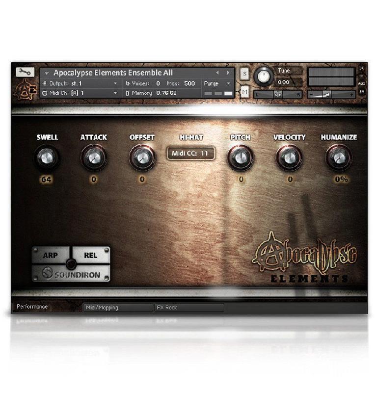 Soundiron Apocalypse Percussion Elements for Kontakt Player.