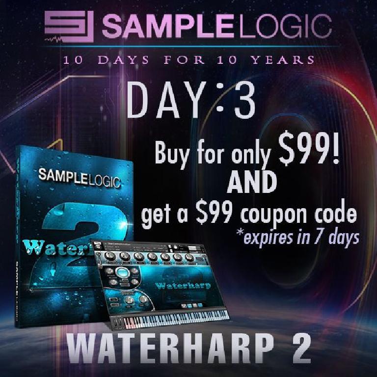 Sample Logic Day 3 Waterharp2 Sale
