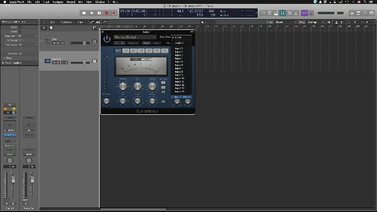 Sidechaining in Logic 10.3