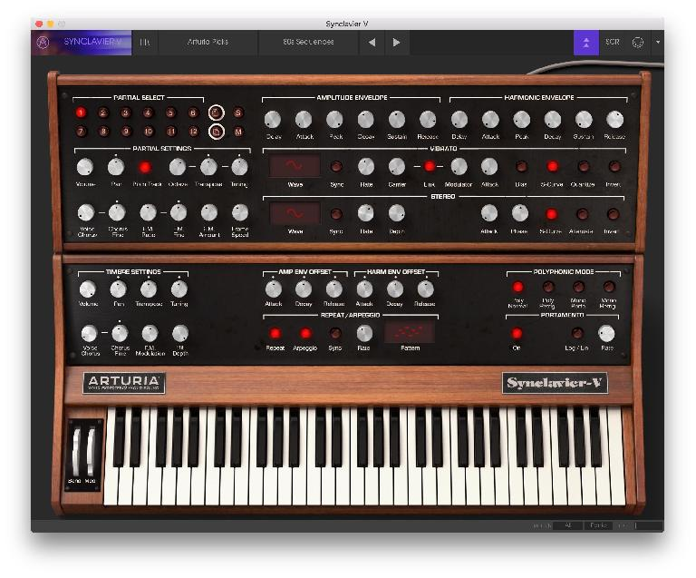 The Synclavier V