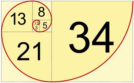 Fibonacci Spiral Image