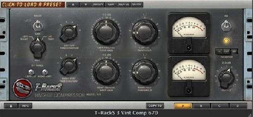 T-Racks Vintage Compressor 670