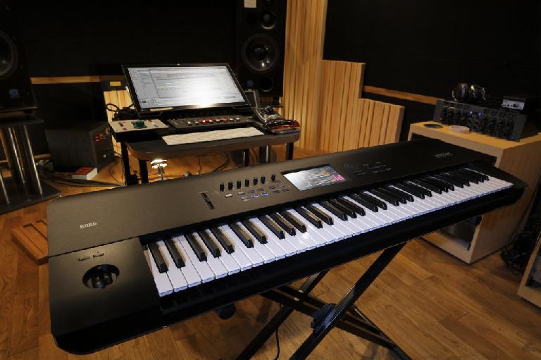 Korg Kronos in the Studio