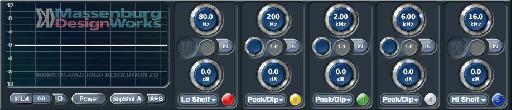 Massenburg DesignWorks® MDWEQ5 EQ Plug-In