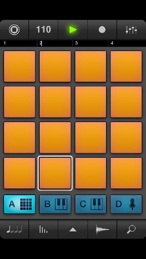 NI's famous drum pads in iPhone form.