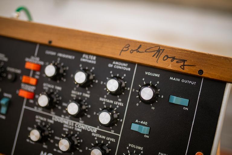 Signed Minimoog