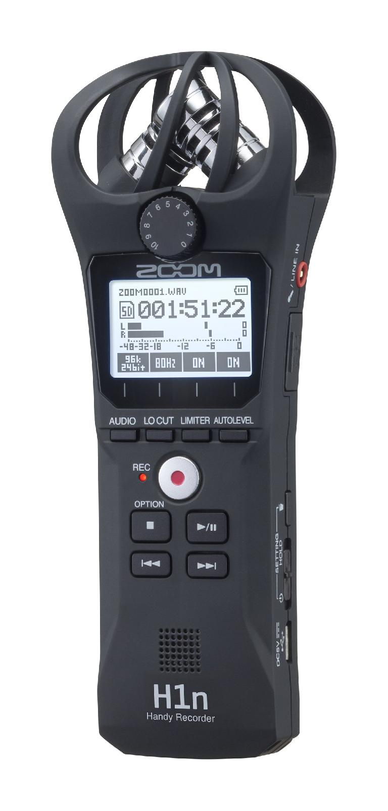 Zoom H1n portable audio recorder