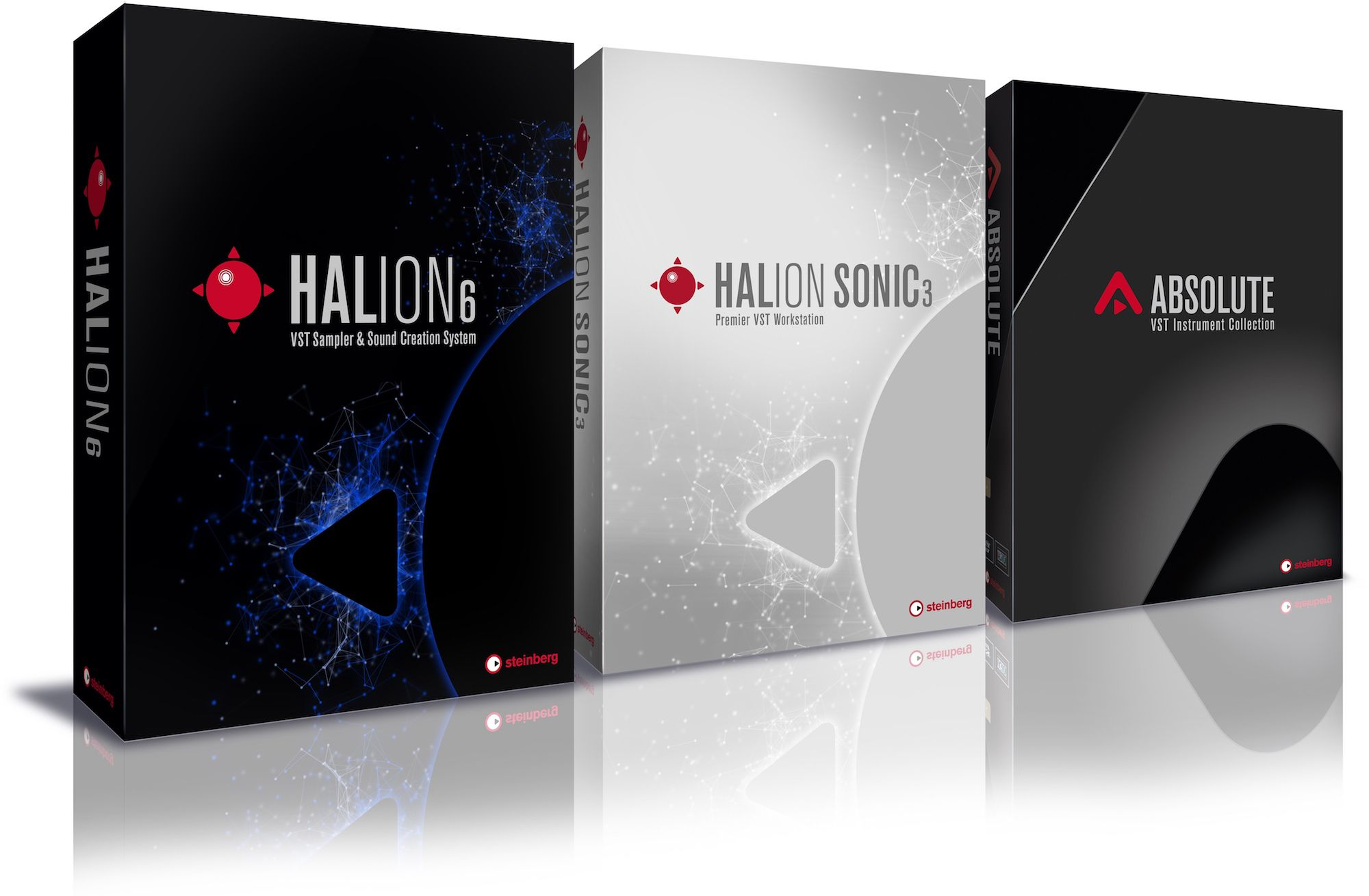 HALion 6, HALion Sonic 3, Absolute VST 3.