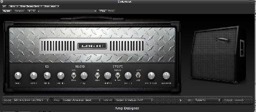 Amp Designer settings