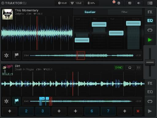 Traktor DJ for iOS