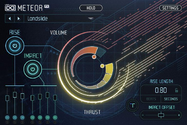 UVI Meteor GUI.