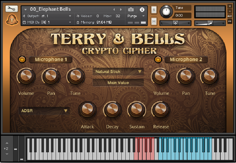 Crypto Cipher Terry & Bells Kontakt instrument