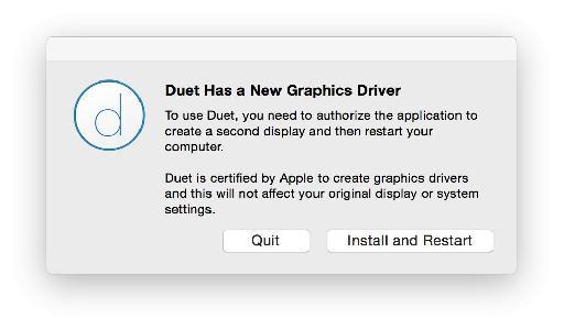 Installing the Mac app is straightforward.