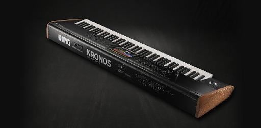The Kor Kronos 88 key model.