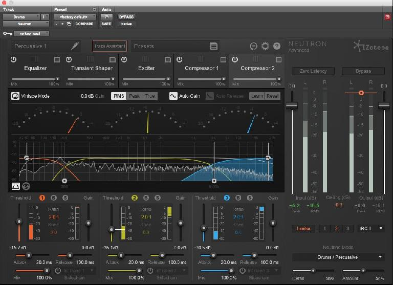 Fig 1 iZotope's Neutron plug-in