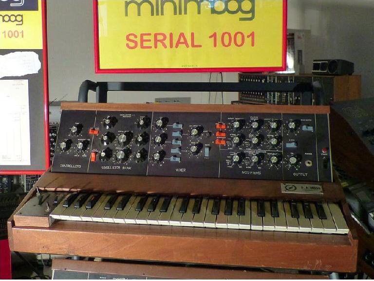 2. Mini Moog