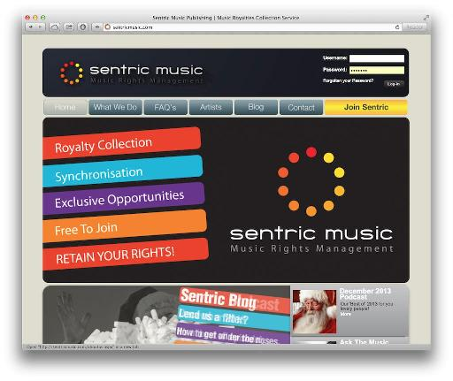 Some companies like Sentric Music offer both sync and rights management services