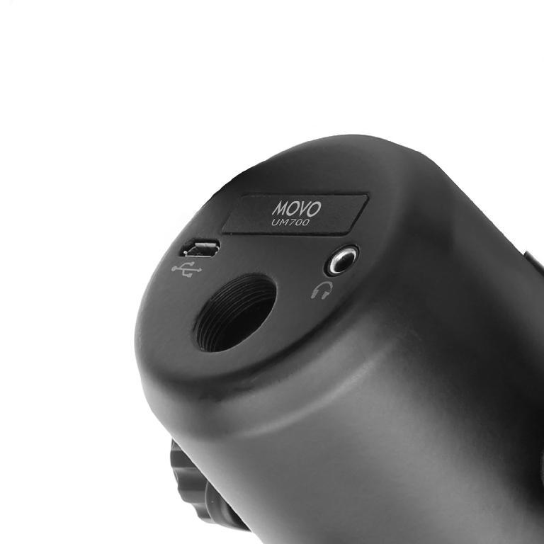MOVO UM700 USB Desktop Studio Microphone base