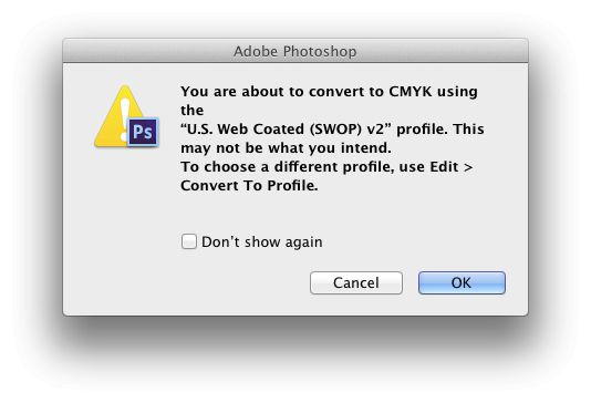 When you convert to CMYK, you're actually converting to a specific CMYK device colorspace.