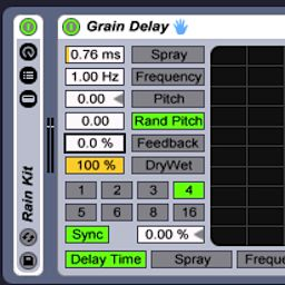 Ableton Live: Grain Delay