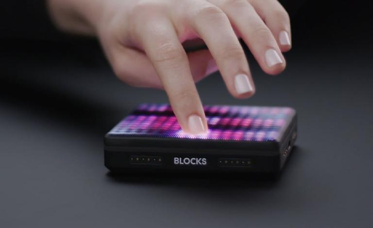 The hackable ROLI Lightpad BLOCK MIDI controller