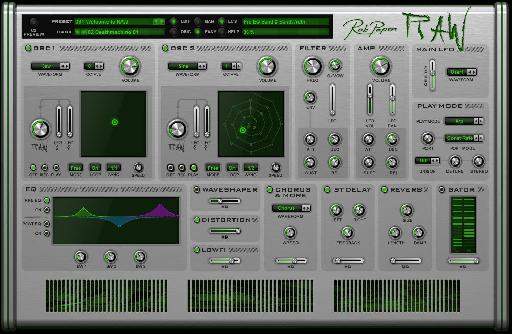 Rob Papen RAW Easy Page