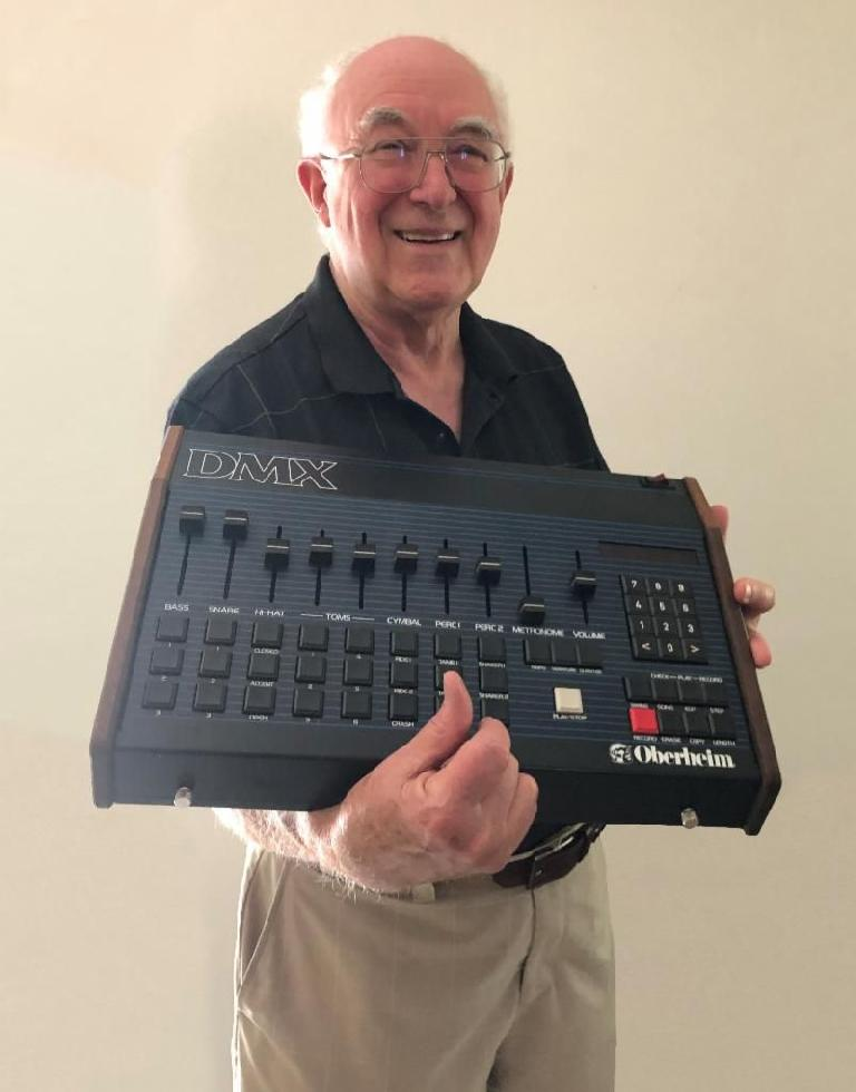 Tom Oberheim now has another reason to smile.