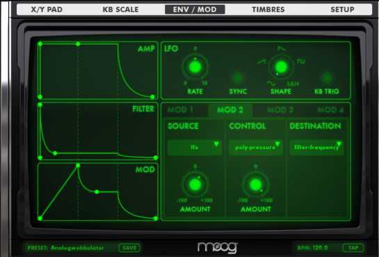 Animoog for iOS