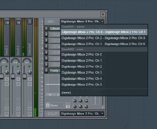 Input for Mixer