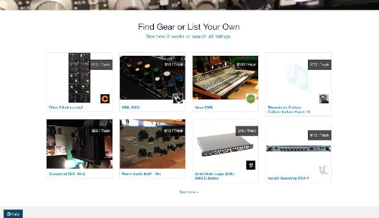 An example of some of the gear on offer at TheAudioHunt.com.