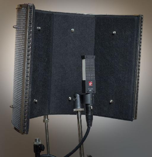 Figure 4. The sE Reflexion Filter PRO with Voodoo VR1.