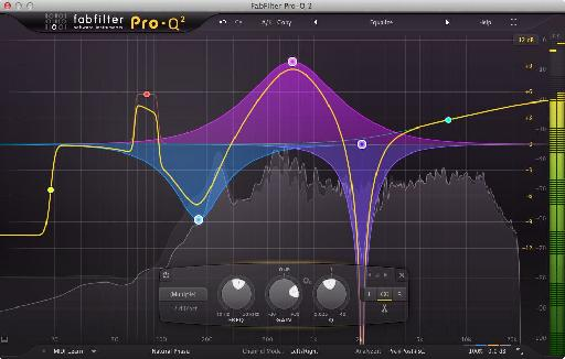 Fabfilter Pro-Q 2 in all its glory.