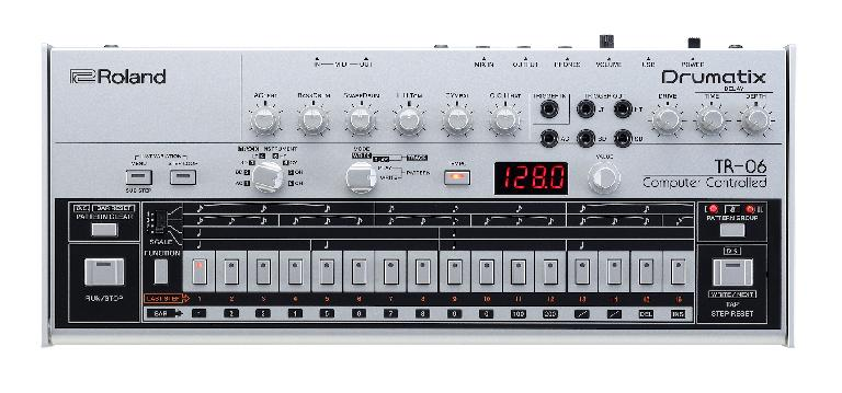 Roland TR-06 top view