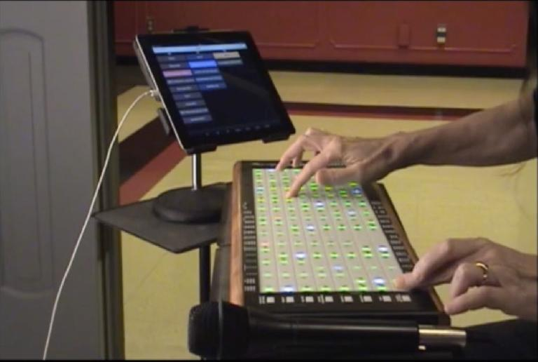 LinnStrument in use with Kyma 7.