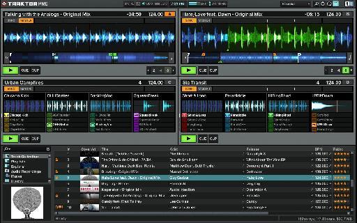 Traktor Pro 2.5's Remix Decks.