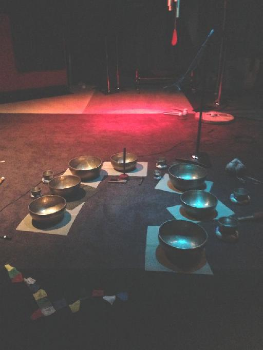 Tibetan Bowl Studio Set-Up