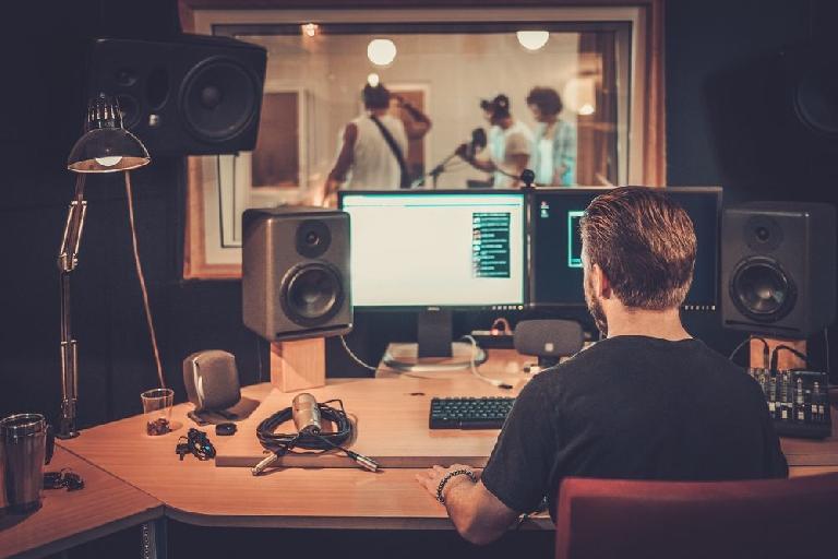 music studio engineer
