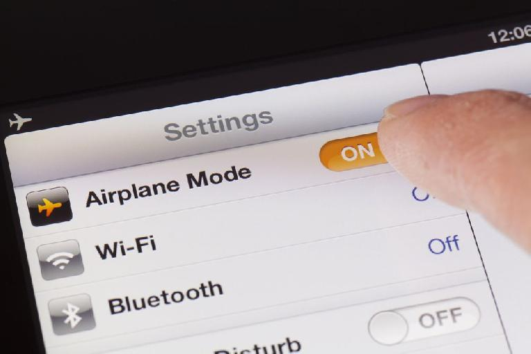 Airplane mode – just do it.