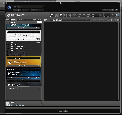 (Pic 1) Minimal will appear as a library in Kontakt or the free Kontakt player