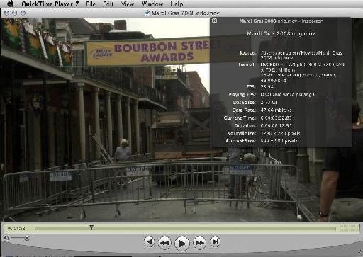 QuickTime 7 Pro 1