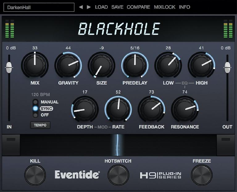 Eventide Blackhole for NKS