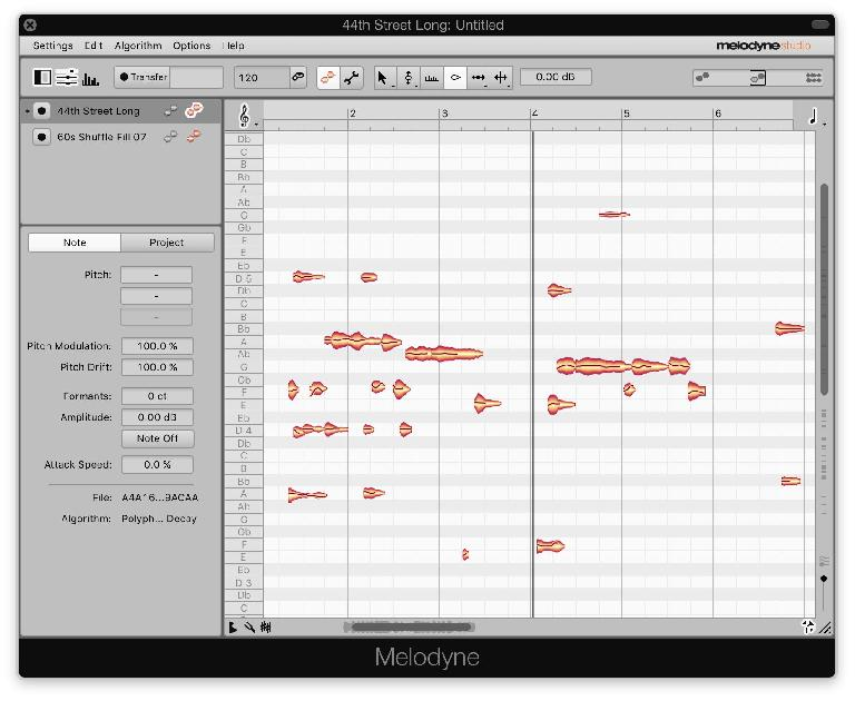 The Studio edition is able to display and edit all instances of Melodyne in a project from any single window.