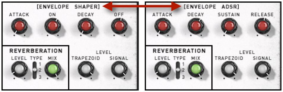 Pic 4 The XILS 3.2 Trapezoid / ADSR Envelope Generator