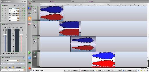 You can use a wave editor to blend tracks together at their beginnings and ends while still creating CDs with specific track break points.
