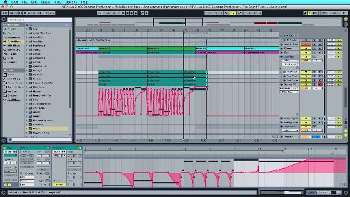 A few additional layers are added as the arrangement start to take form. Automation and editing are used to develop each idea for variation as the song progresses.