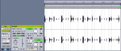 Breakbeat loop