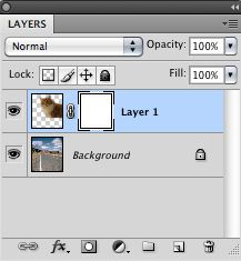 The layer mask