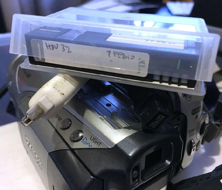 Got an HDV camcorder, labeled tapes, and all the cables? Ingest, now.