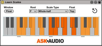 Learn Scales Max for Live device