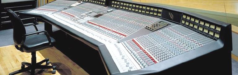 Fig 1 An original SSL 4000G+ console